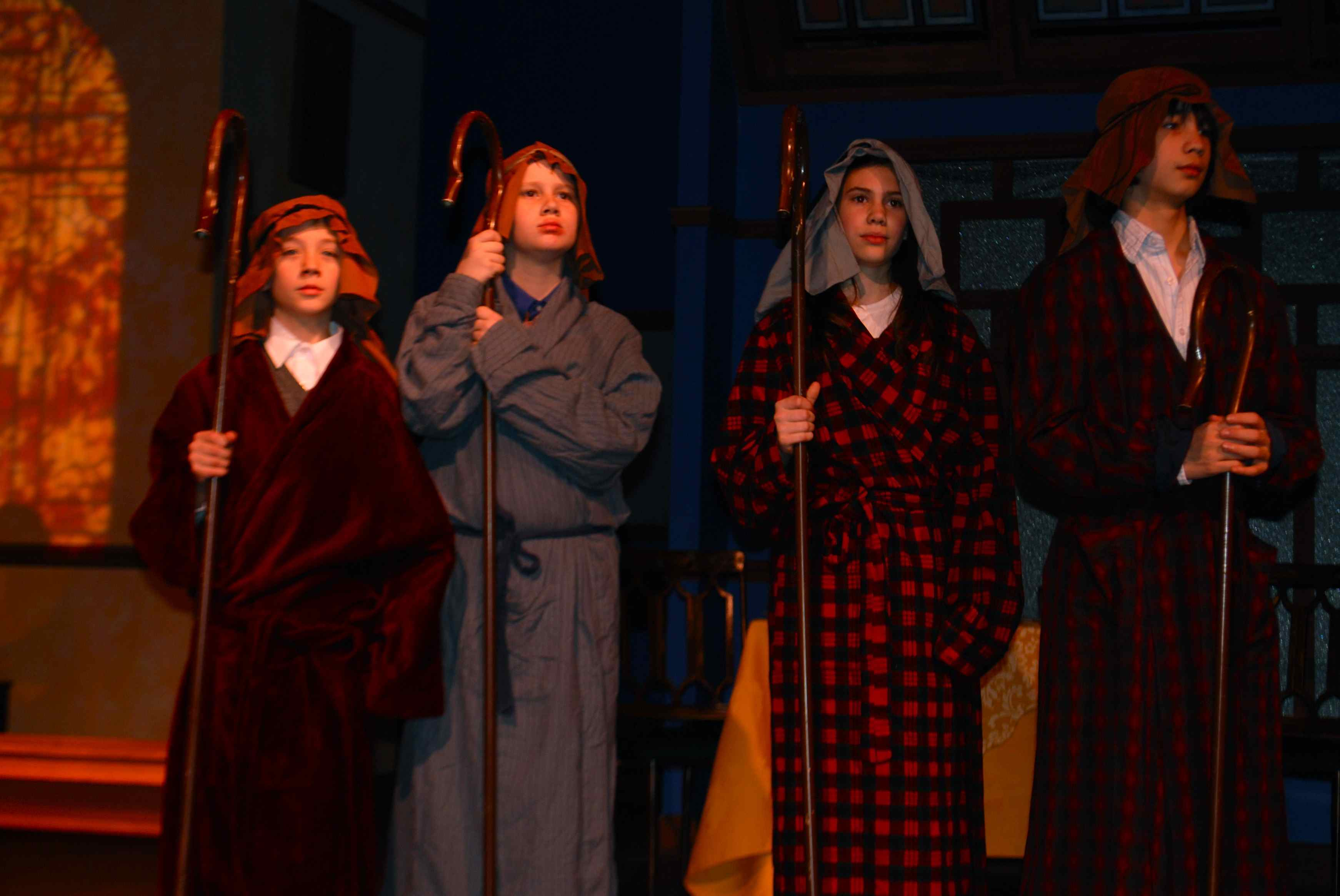 Lakewood play the best christmas pageant ever 2009